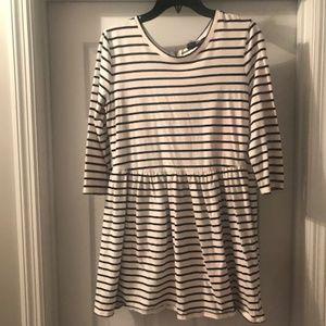 Striped Tunic Dress in Women